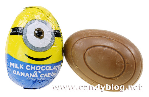 Milk Chocolate with Banana Cream Egg
