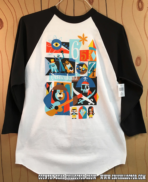 2015 Disneyland 60th Decades Shirt 1965-1974 - Country Bear Collector Show #027