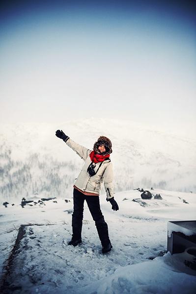 2016.02.23▐ 看我歐行腿 ▐ 阿呀~一不小心就從瑞典到了挪威, Narvik 小鎮遇見地理課本中的峽灣 12.jpg