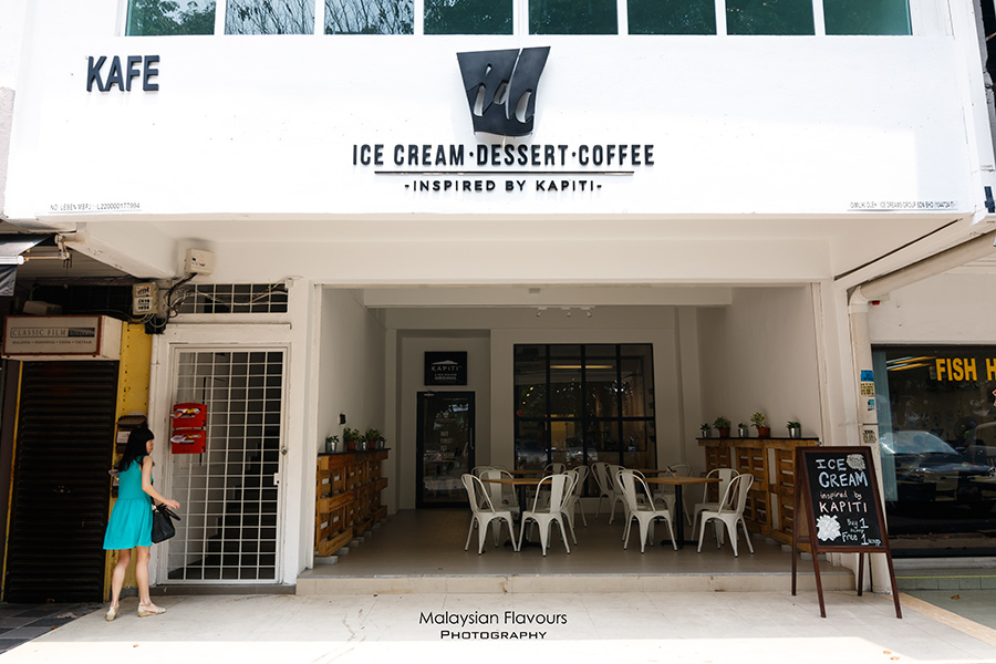 IDC KAPITI Ice Cream Inspired Dessert Cafe Damansara Kim PJ