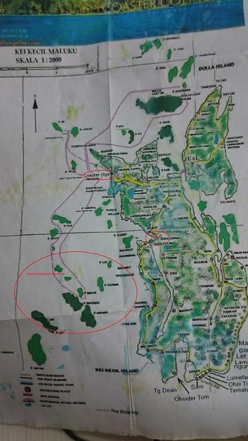 Peta Kei Kecil