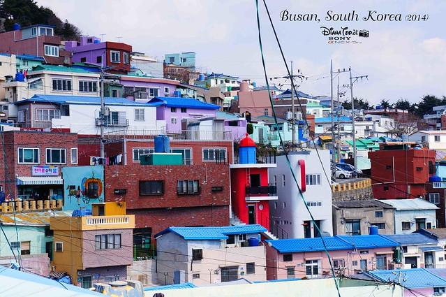 South Korea 2014 - Day 02 Busan Gamcheon Culture Village 06
