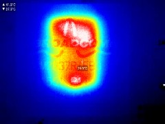 Thermal movie - R Pi 3 processor thinking
