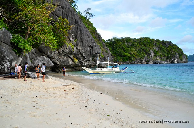 Our Group Visiting Paradise Beach El Nido Palawan