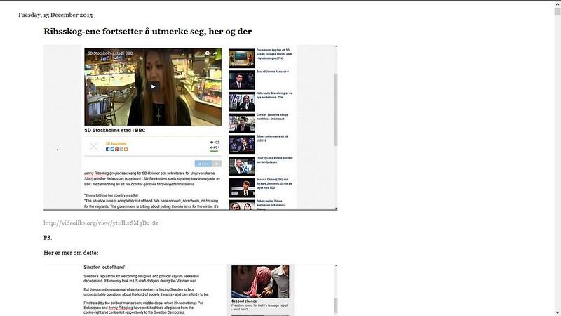 bbc jenny ribsskog 2