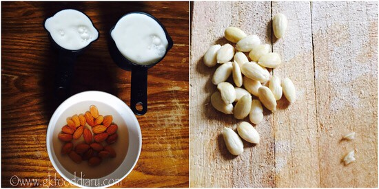 Instant Almond Milk Recipe for Toddlers and Kids - step 1