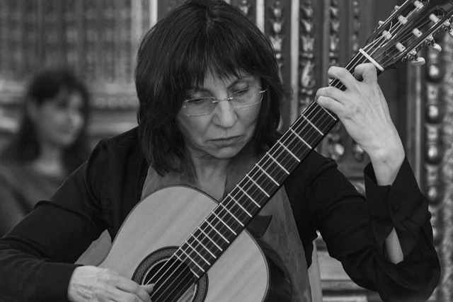 Avelina Vidal, guitarrista