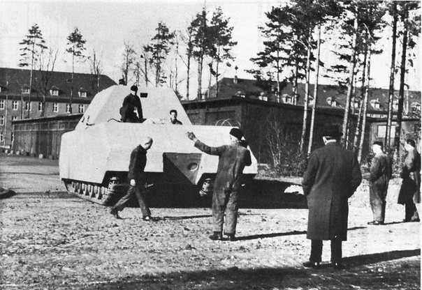 "the first check out ""MAUS"" or rather its prototype"