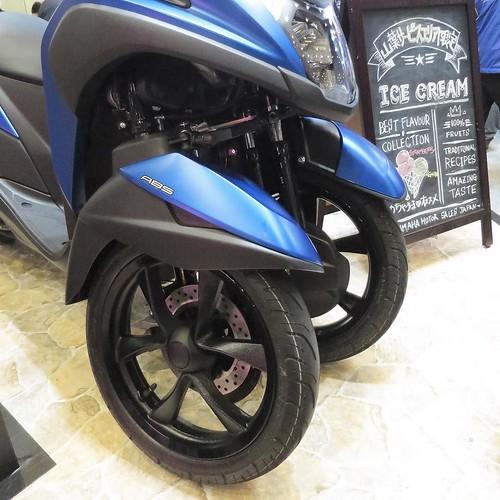 三輪です #東京モーターサイクルショー