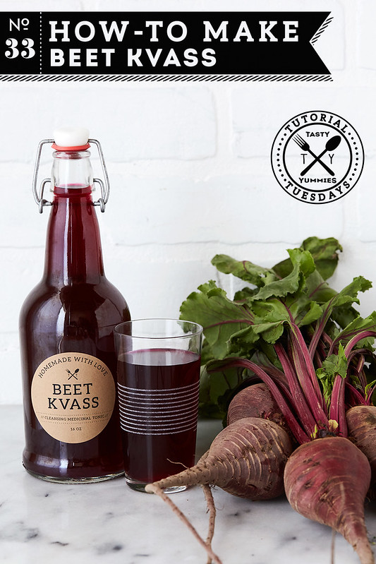 How-to Make Beet Kvass // A Cleansing Medicinal Tonic