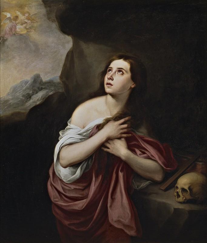 Bartolomé Esteban Murillo - Magdalena penitente