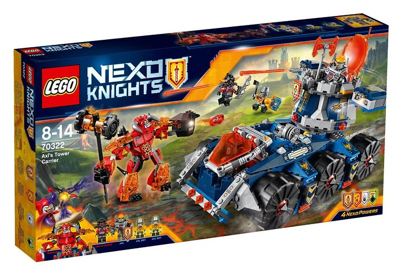 LEGO Nexo Knights 70322 - Axl's Tower Carrier