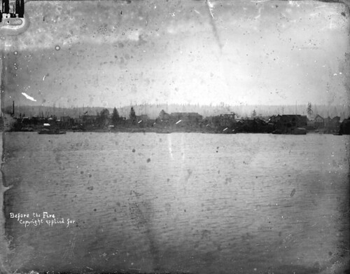 LGN 452 - [Vancouver waterfront] before the fire [of 1886]