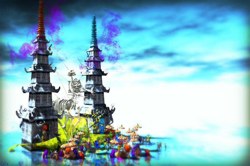 Fantasy Faire 2016 Sapphire Mirror Lake - II - Blogpost!
