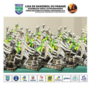 2016 - Prêmio Melhores do Handebol Paranaense 2015
