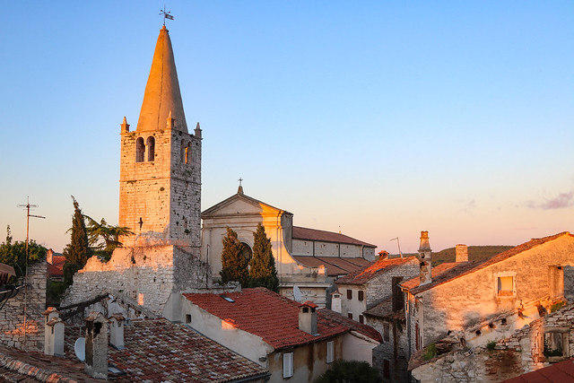 Small towns in Istria