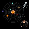 Our solar system is a vinyl