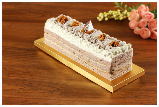 歐式芋香長條蛋糕
