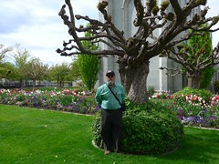 Ali at Temple Square, Salt Lake City
