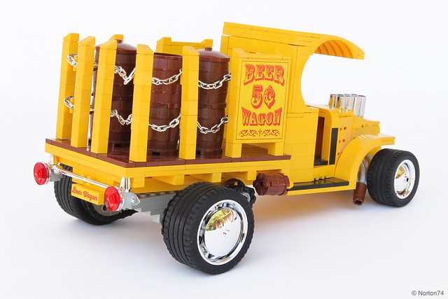 Beer Wagon | '67 Tom Daniel Mack Bulldog