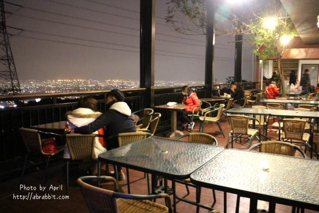 [台中沙鹿]岳家庄夜景咖啡廳–情侶浪漫約會推薦之夜景咖啡廳@沙鹿
