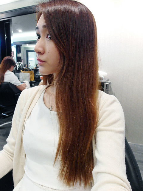 Jasmine ong lifestyle blogger food beauty fashion and travel first i got my hair trimmed to remove all those damaged hair at the bottom pmusecretfo Images
