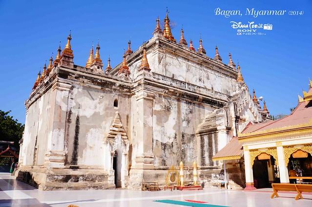 Day 2 Bagan - Manuha Phaya 01