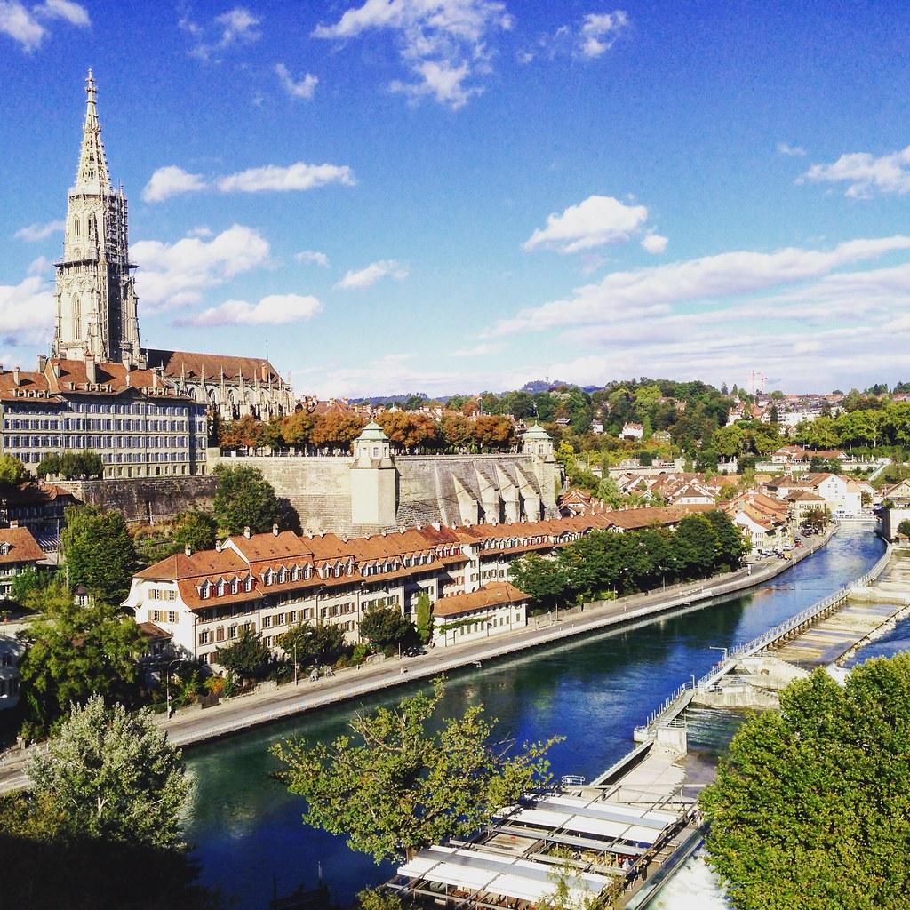 Nice day in Bern