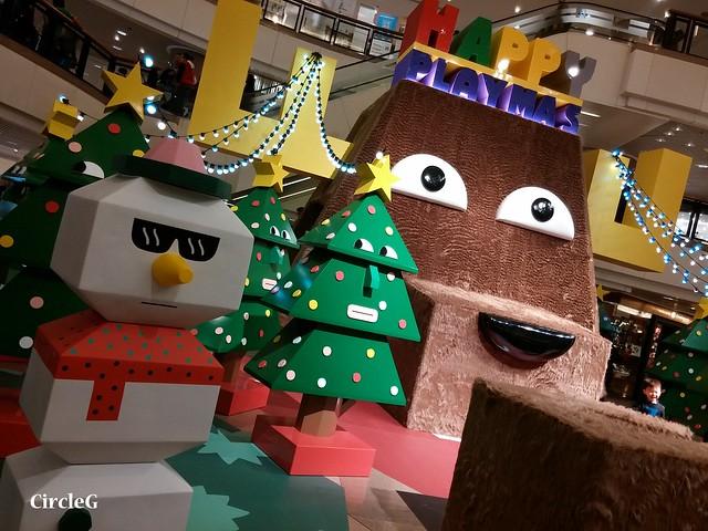 港威中心 hongkong tst 尖沙咀2015 CIRCLEG 聖誕裝飾  (1)