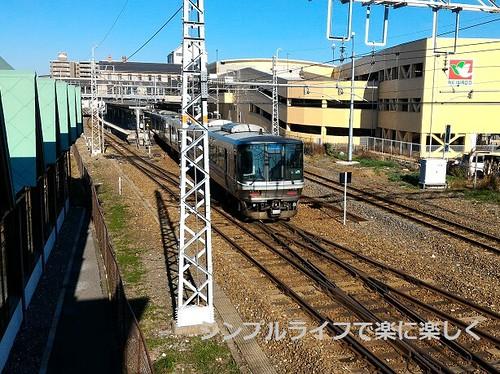 長浜鉄道スクエア、展望デッキ・駅