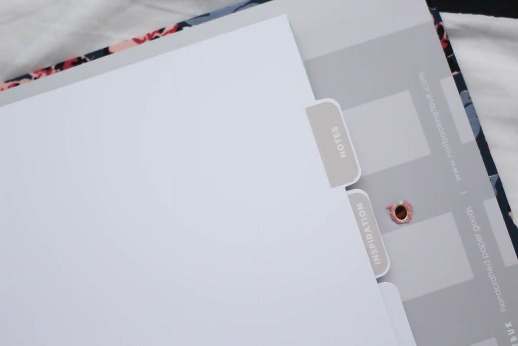 notbook notbuk divider notes