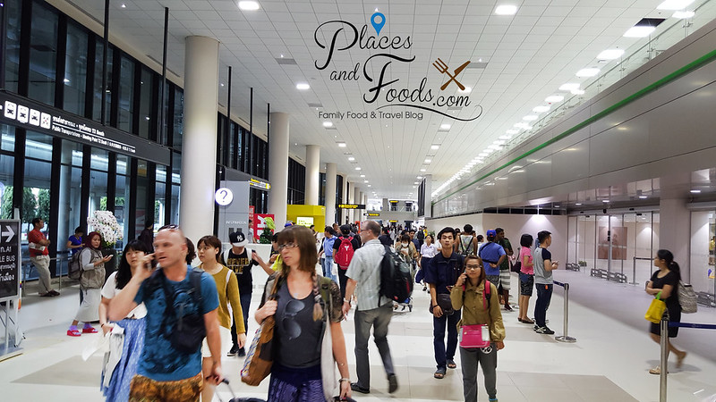 don mueang terminal 2 picture renovated arrival hall