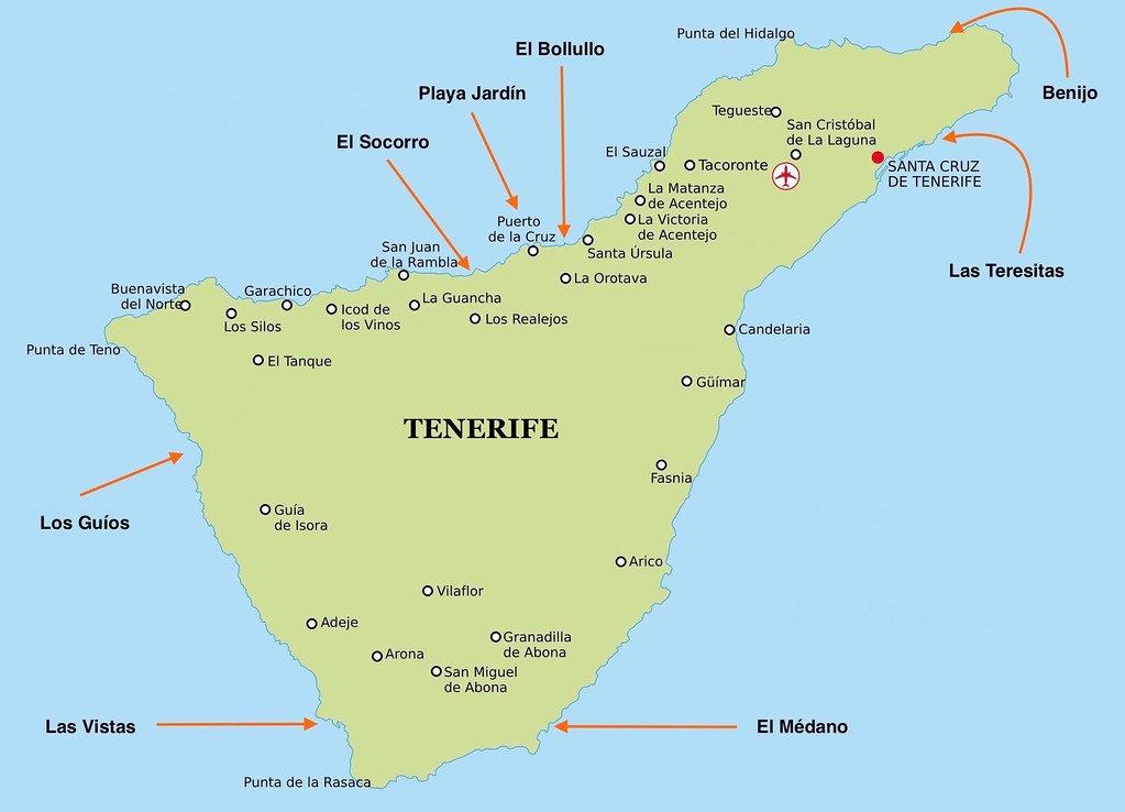 Best beaches around Tenerife