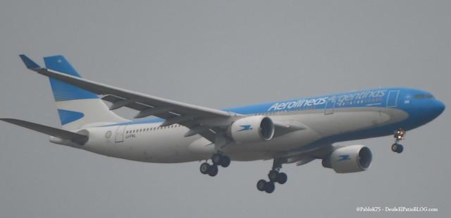 A330 Aerolíneas LV-FNL