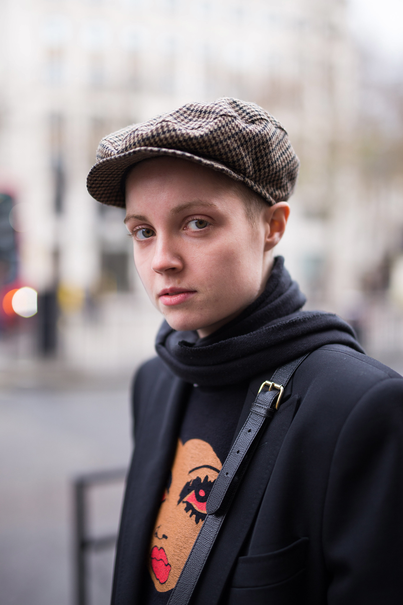 Street Style - Chanie Munn, London Collections: Men