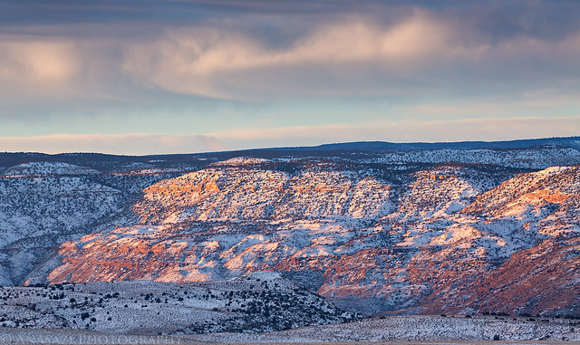 Uncompahgre Plateau Sunrise