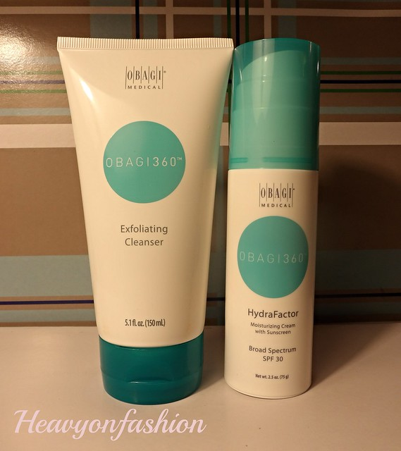 Heavy on Fashion Obagi Medical facial treatment