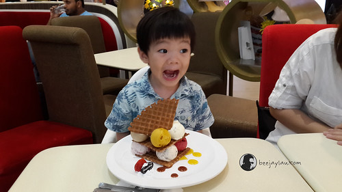 Lucas With His Häagen-Dazs Ice Cream