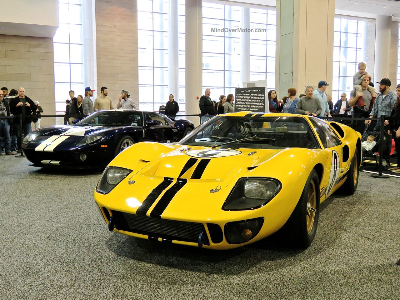 Philly Auto Show 2016 Ford GT40 Mk2