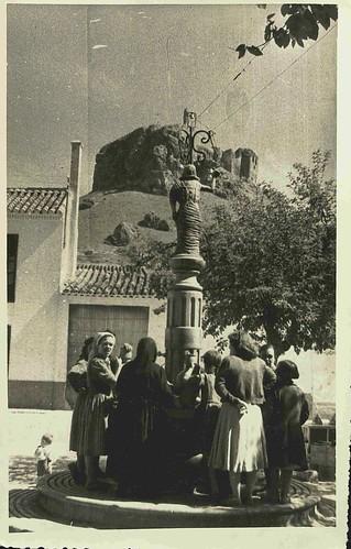 Fuente de la Plaza Mayor de Montiel (Ciudad Real)