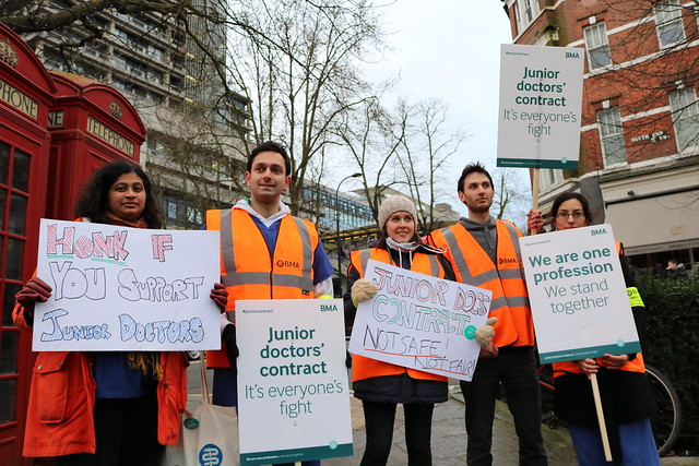 Junior doctors' industrial action - 10 February 2015