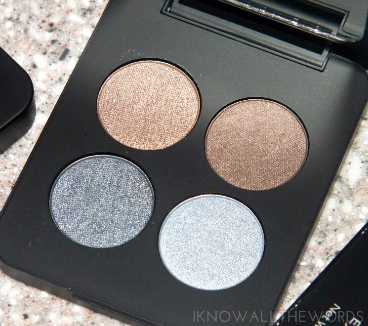 youngblood mineral eyeshadow quad glamour-eyes swatches (2)