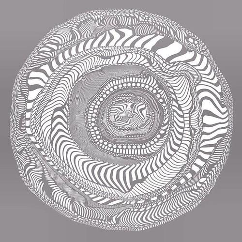 Gray Paper Mosaic