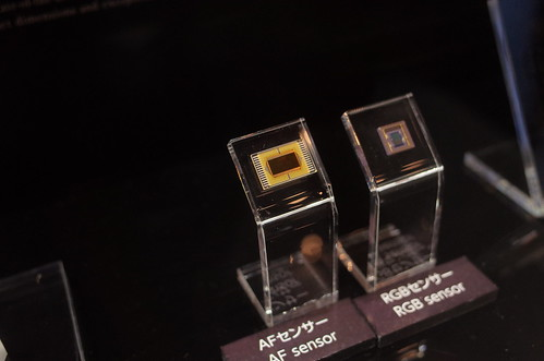 AF sensor and RGB sensor