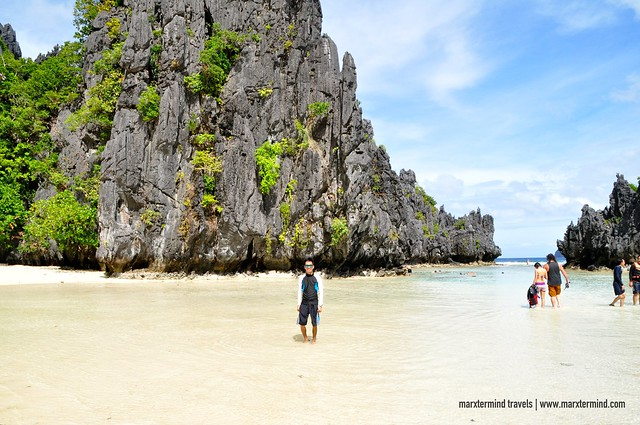 marxtermind at Hidden Beach El Nido