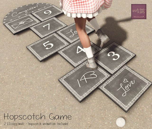 Serenity Style -Hopscotch Game