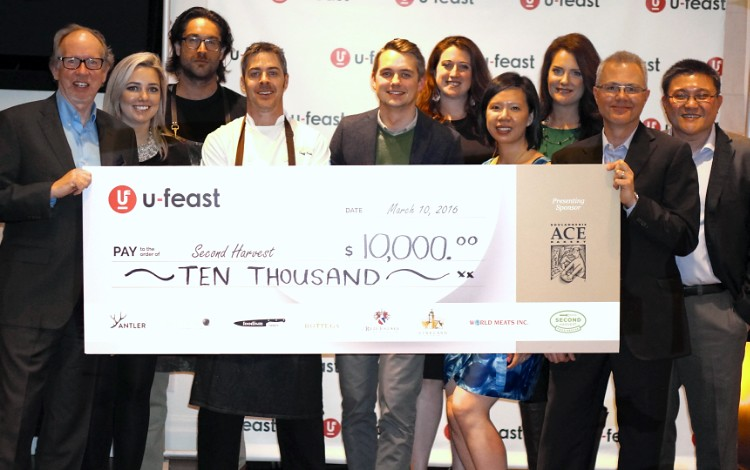 100% U-feast proceeds were donated to Second Harvest