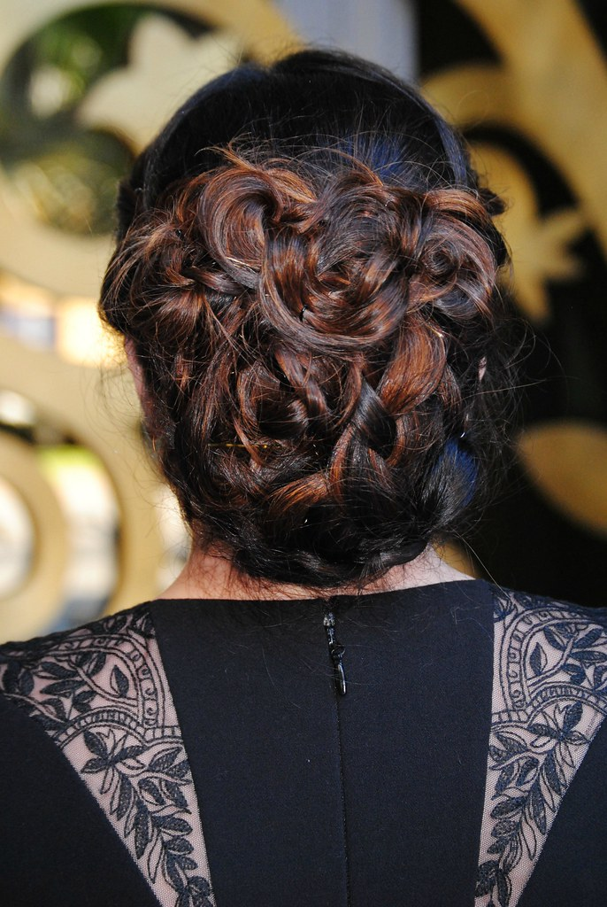 formal wedding guest updo