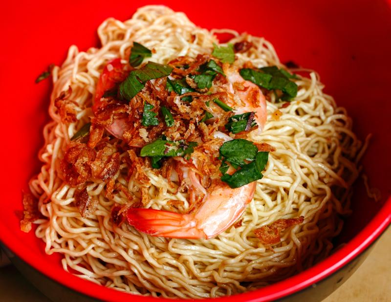 Dapur Sarawak Mee Kolok Udang