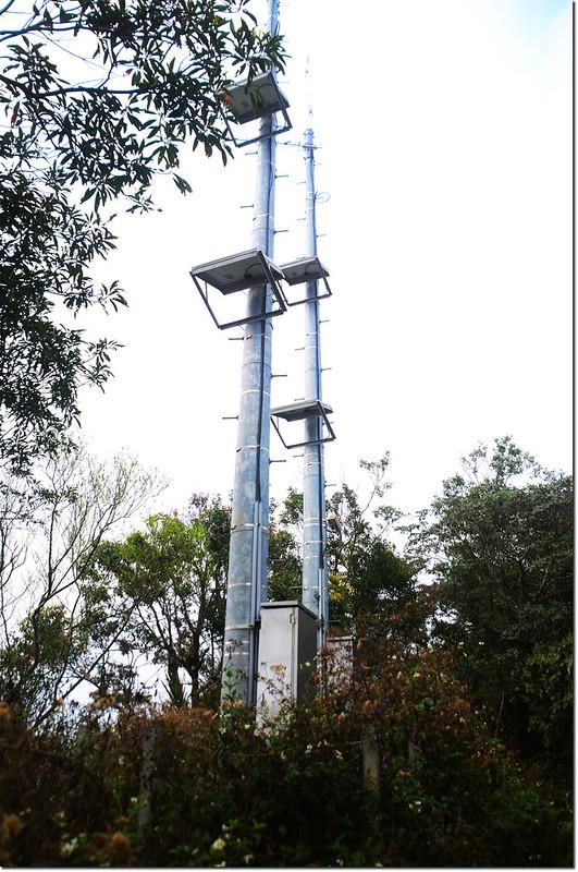 雨量測報系統三地山中繼站